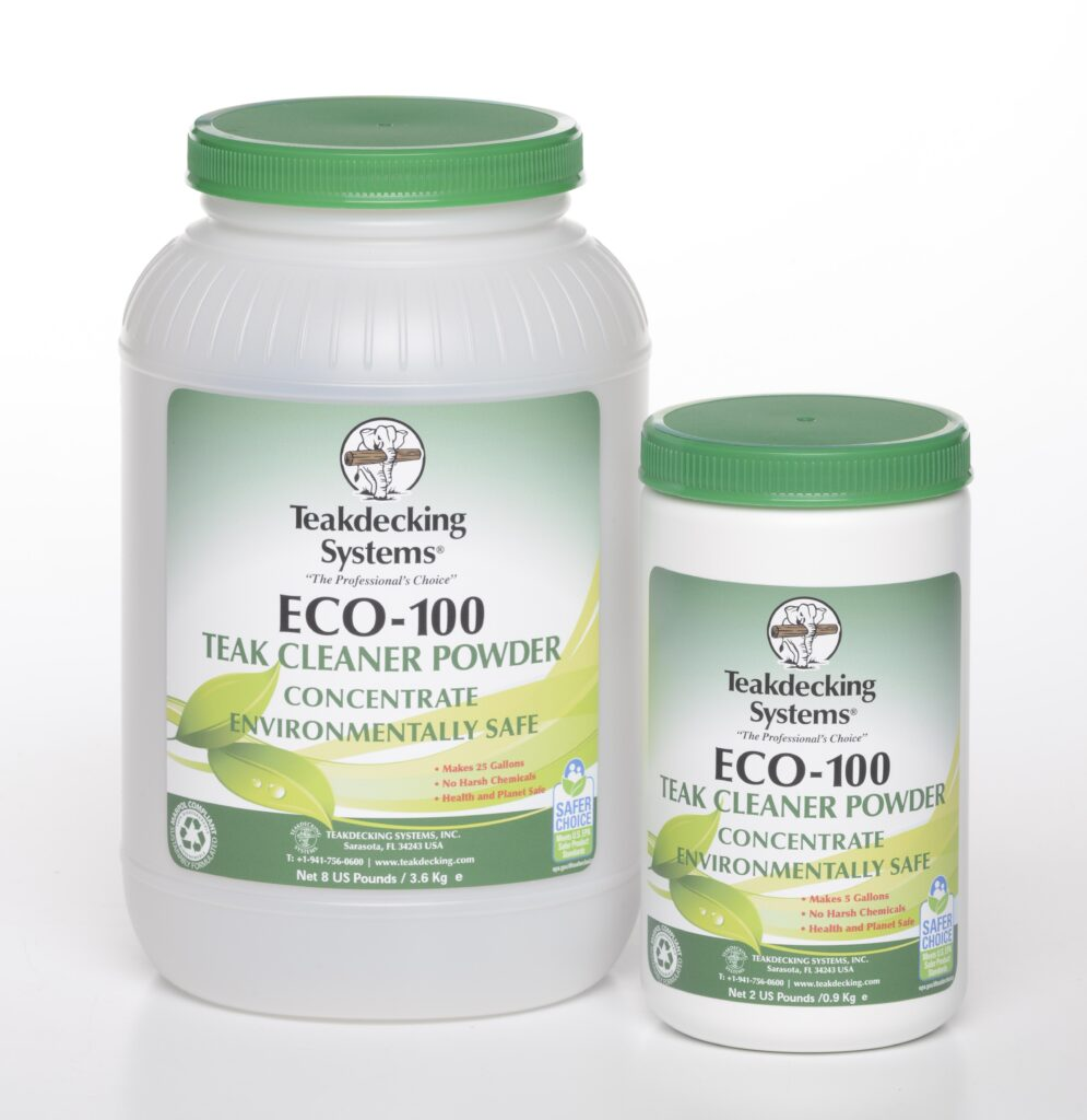 Teak decking systems cleaner eco-100