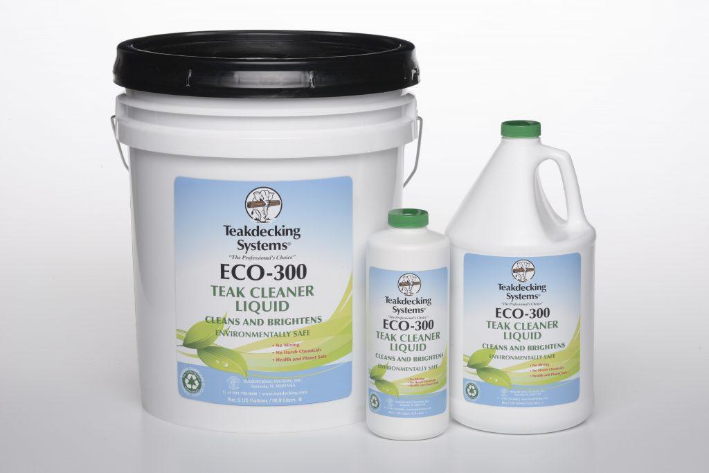 ECO-300 Liquid teak decking cleaner