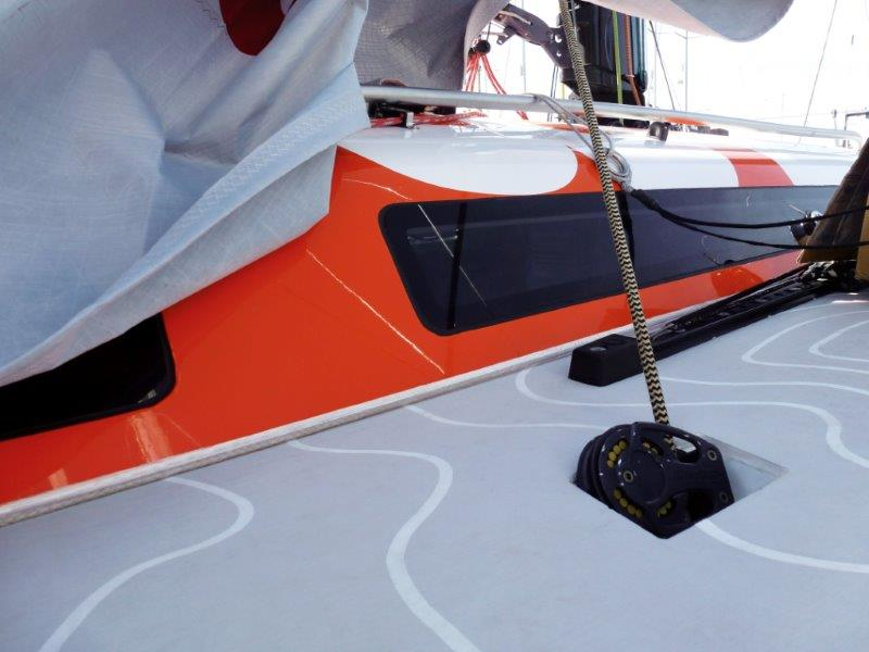 composite boat decking or synthetic decking design