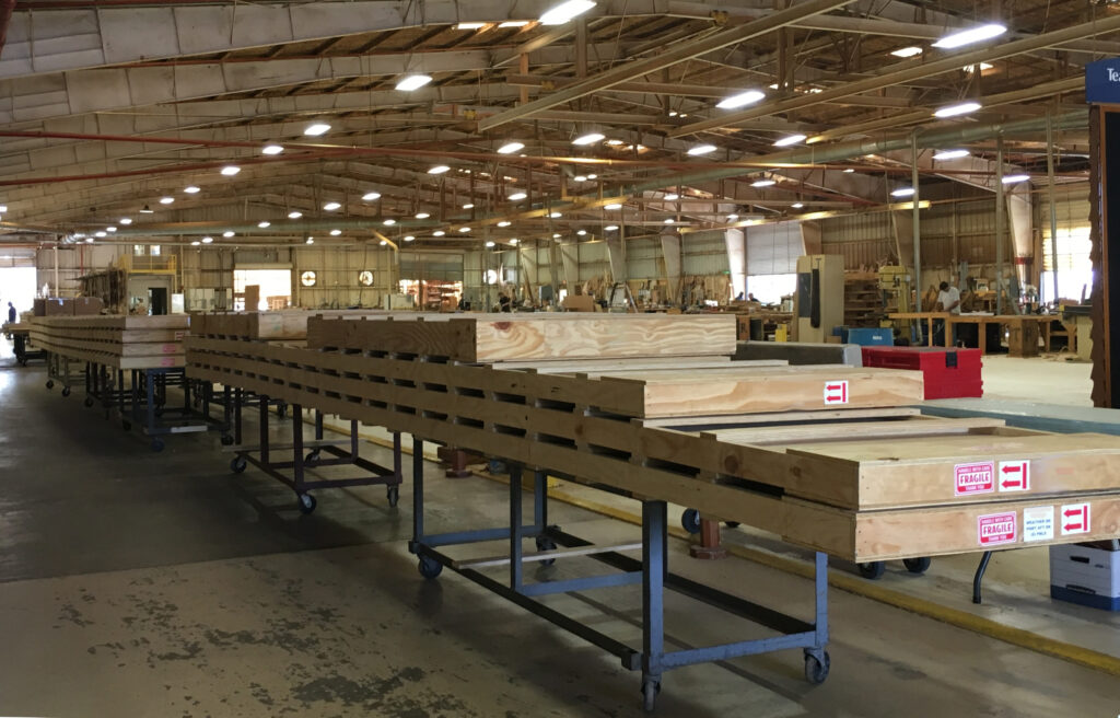 teak decking systems shipping crates
